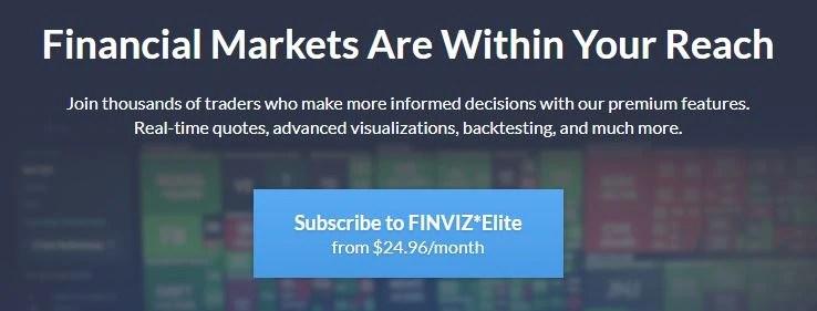 Finviz elite subscription with coupon