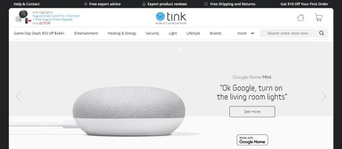 Tink Is Providing Smart Products