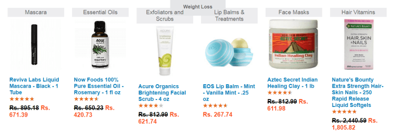 eVitamins Coupon Codes -Bath and Beauty