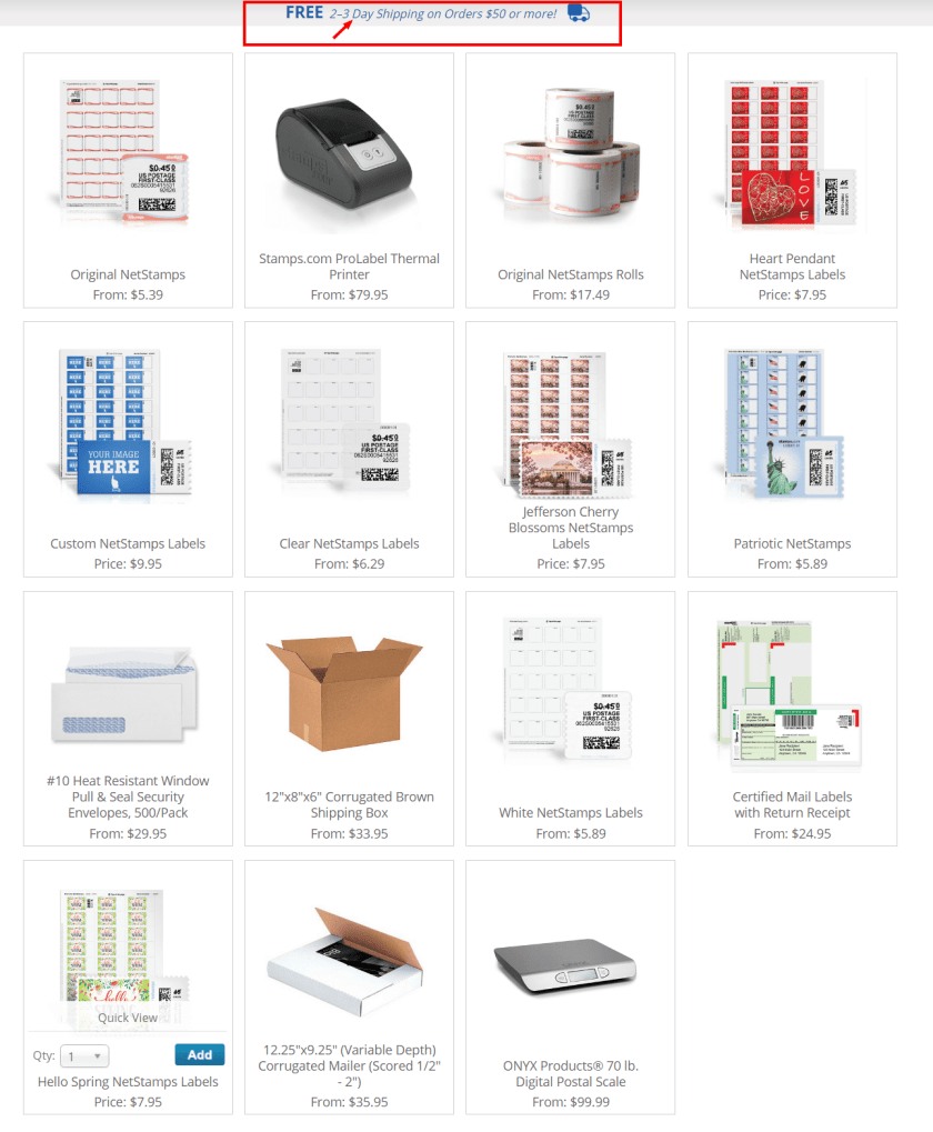 Stamps.com Review With Coupon Codes -Supplies