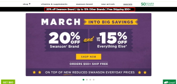 Swanso Vitamins Coupon Code with Review