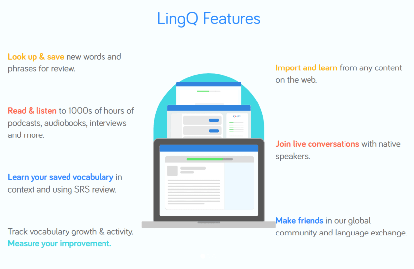 LingQ Coupon Codes- LingQ Features