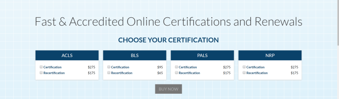 acls certification cost much does worth course institite check