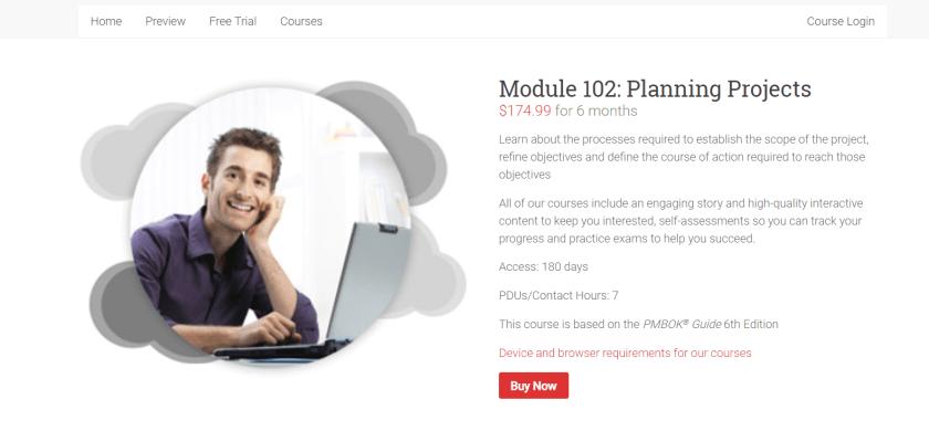 Brain Sensei Courses Review-Module 102 Planning Projects