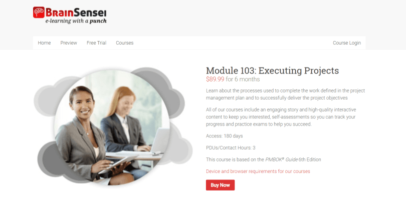 Brain Sensei Courses Review- Module 103 Executing Projects