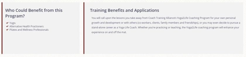 Yoga Life Coaching Benefits