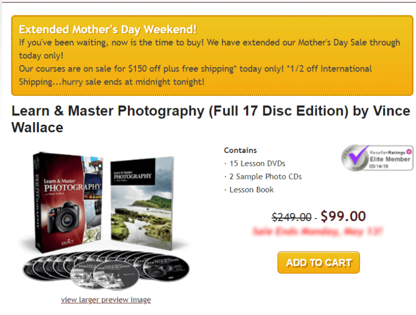 Learn & Master Courses Coupon Codes- Master Photography Pricing