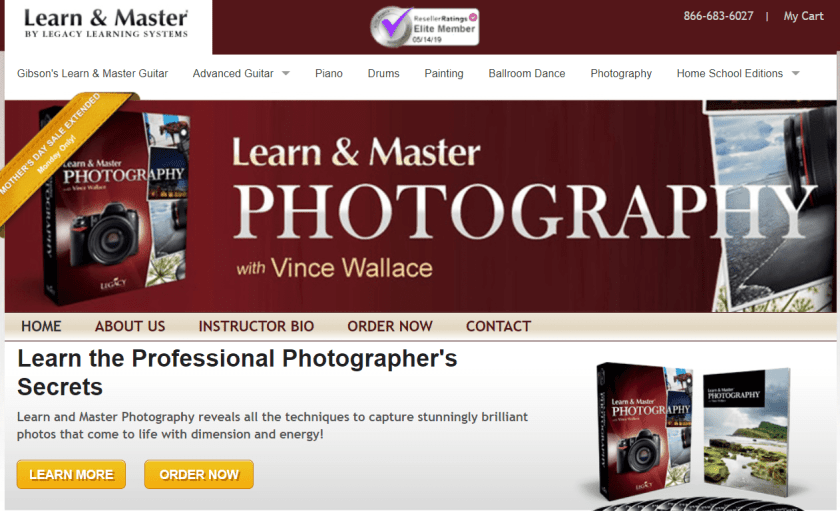 Learn And Master Photography Review