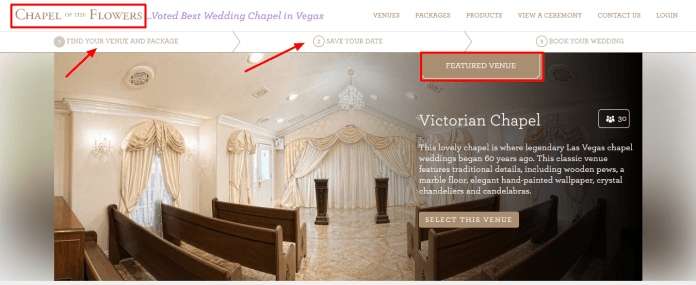 Chapel of the Flowers Coupon - Las Vegas special offer