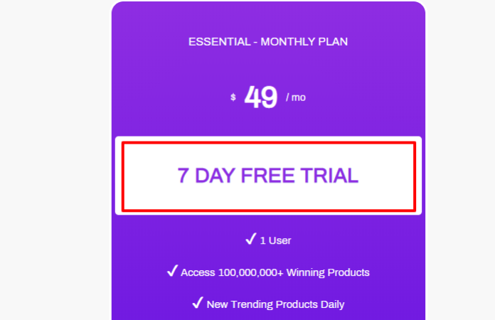 SaleSource - Pricing Plan