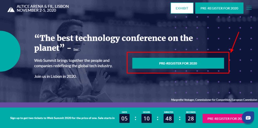 Web Summit Lisbon - Where the tech world meets