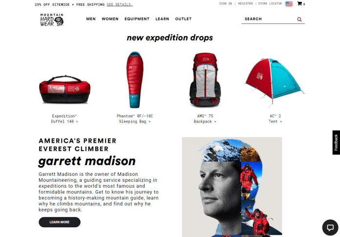 Mountain Hardwear - New Expedition Drops
