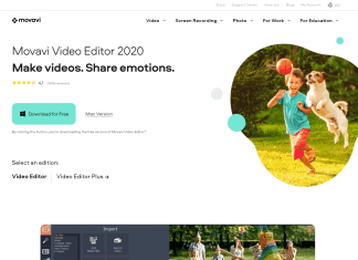 Movavi Video editor and converter review
