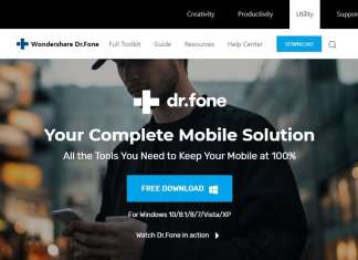 Dr. Fone Review Homepage