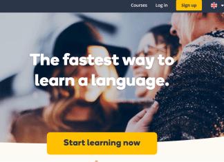 Memrise vs Duolingo - memrise home