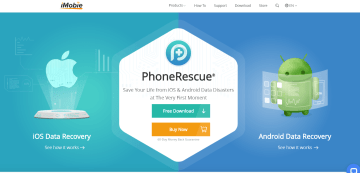 PhoneRescue Review home