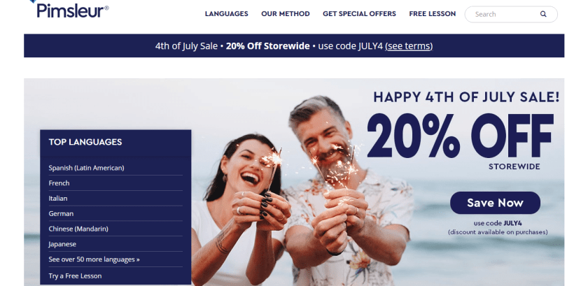 Pimsleur Review Homepage