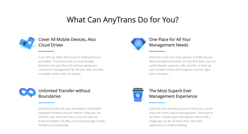 what can anytrans do for you