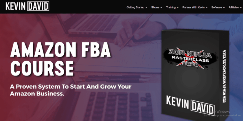 Kevin David Courses- Amazon FBA Course