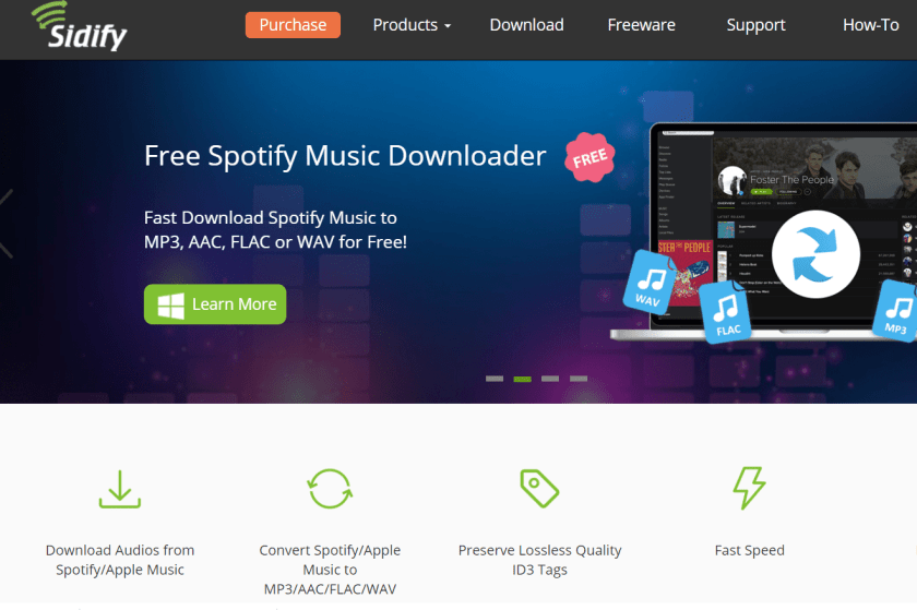 sidify for spotify music converter