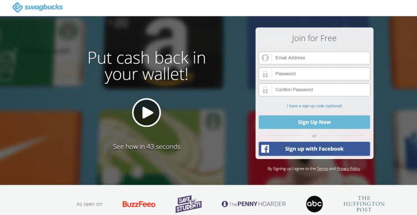 Swagbucks- earn money