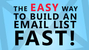 HOW TO BUILD YOUR EMAIL LIST FAST WITHOUT SPENDING MONEY
