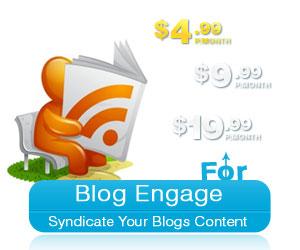 Memberships, RSS, Blog Engage
