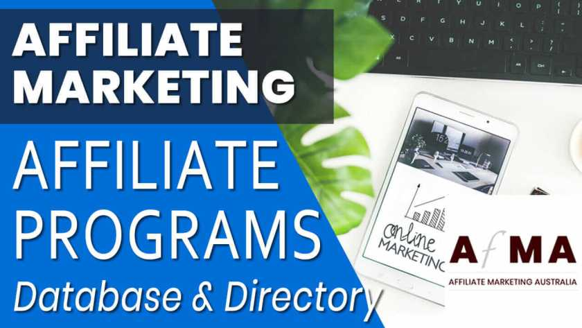 Affiliate Programs Database and Directory
