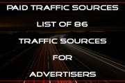 Paid Traffic Sources - 2017 Advertising Guide