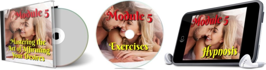 11 Days To Manifestation Mastery Program + 5 Free Bonuses  Image of module 5 combined