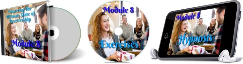 11 Days To Manifestation Mastery Program + 5 Free Bonuses  Image of module 8 combined