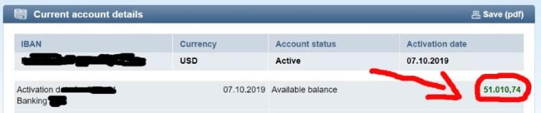 11 Days To Manifestation Mastery Program + 5 Free Bonuses  Image of bank account statement