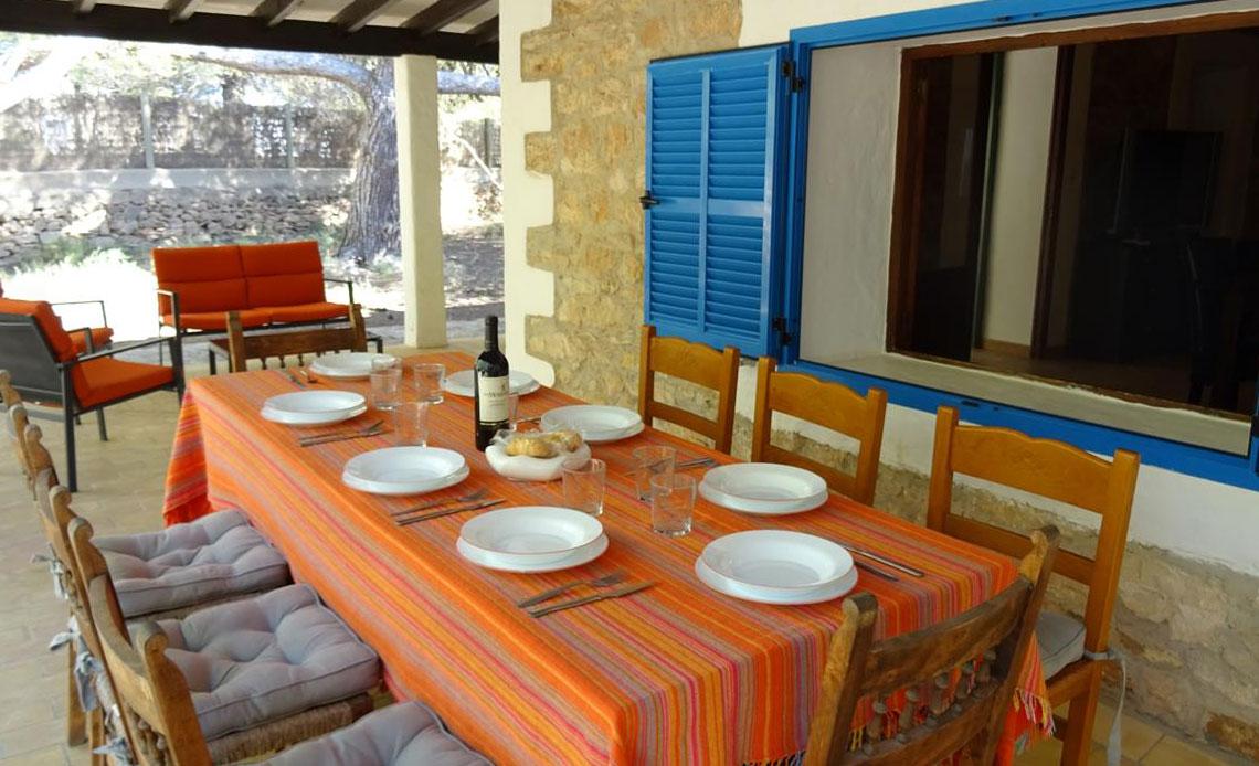 Finca La Mancha - Affitta una casa a Formentera