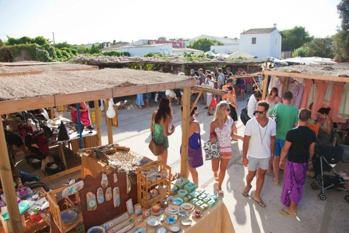 Mercatino a La Mola - Formentera