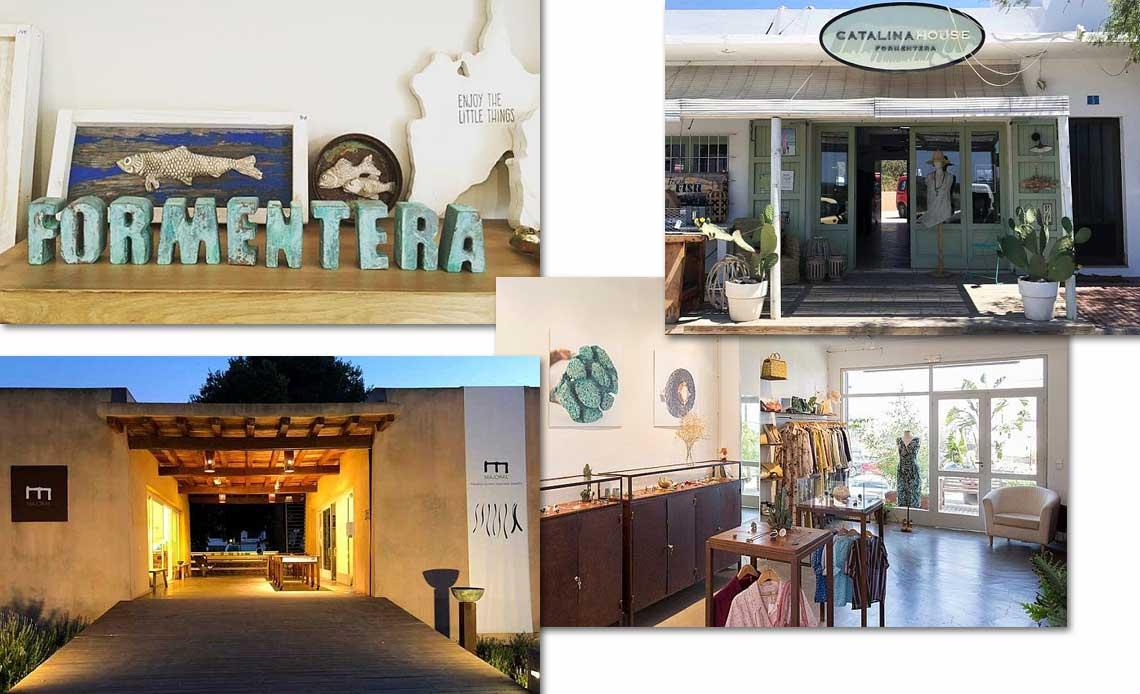 Shopping a Formentera