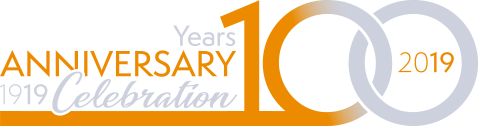 Logo Affolter 100 years anniversary