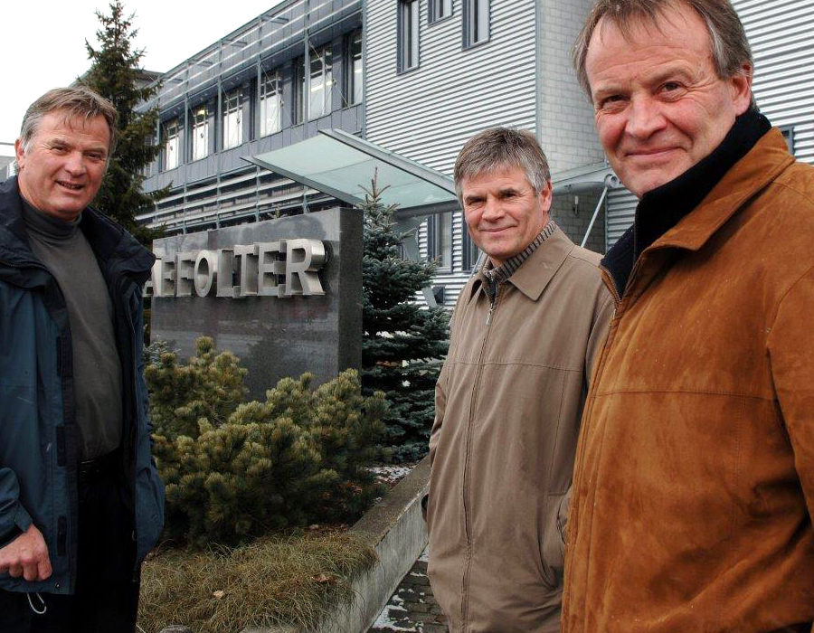 3rd Generation of AFFOLTER, Jean-Claude, Michel et Marc-Alain Affolter