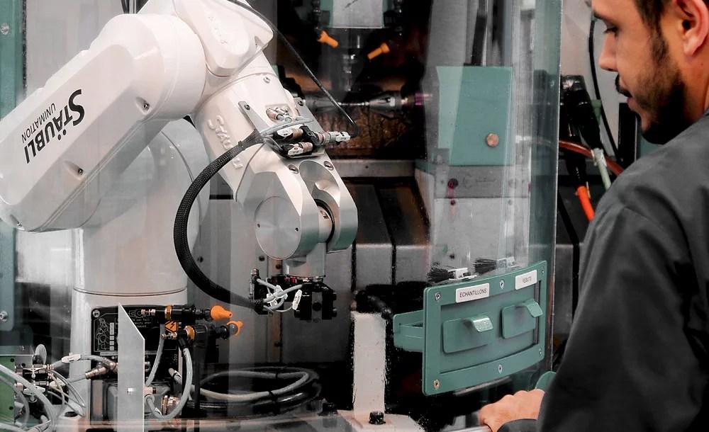 job gear hobbing manufacturing swiss watch affolter geartrain