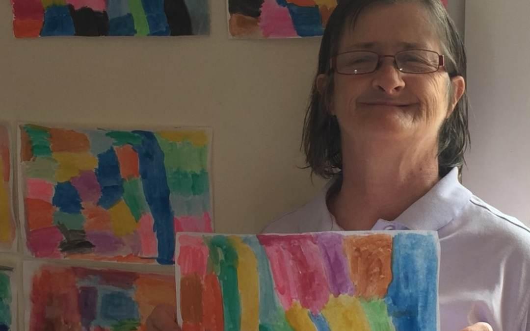 An emerging artist