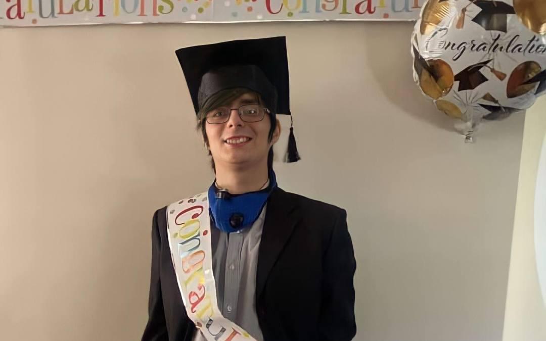 A special graduation surprise