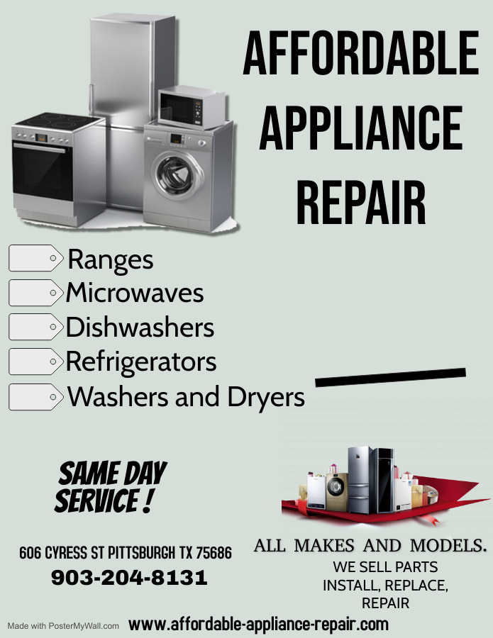 affordable appliance repair serving