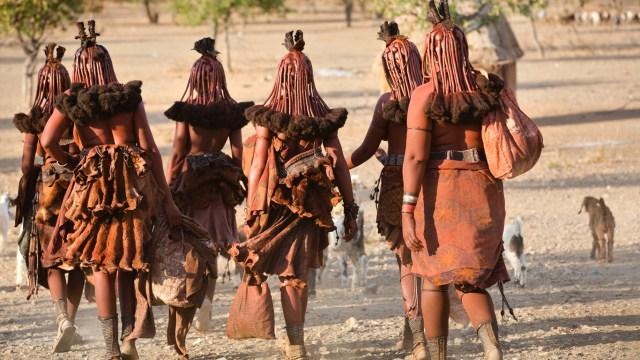 Himba women tribe Namibia