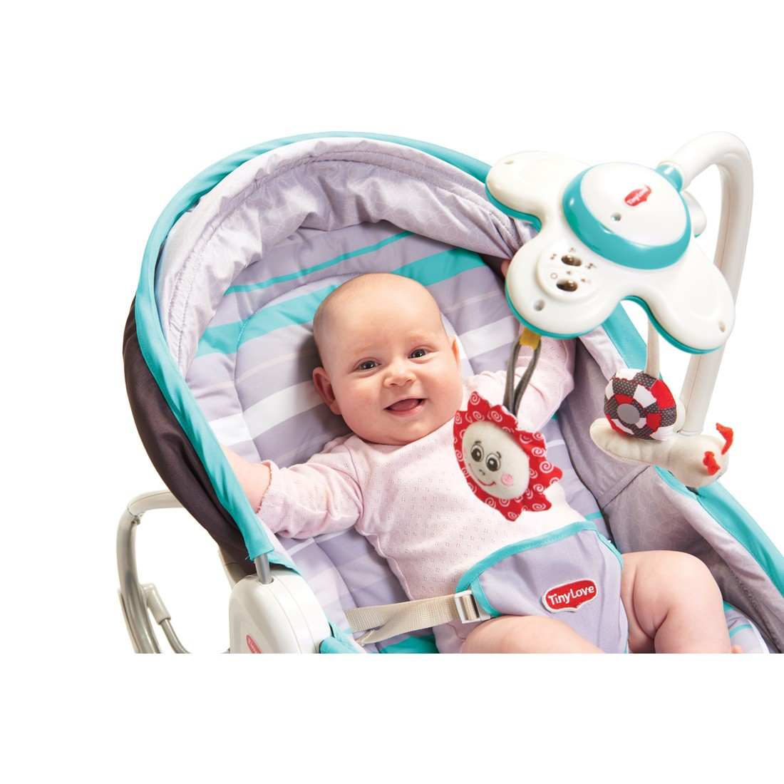 vibrating chair baby office chairs at costco tiny love 3 in 1 rocking bouncy moses basket