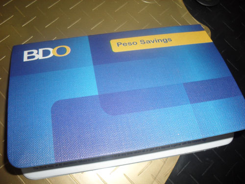 Banco De Oro BDO Bank Rules and Regulations of their