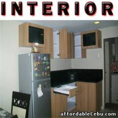L Type Small Kitchen Design Tile Colors For Floor Modular Cabinet Sale Cebu City ...