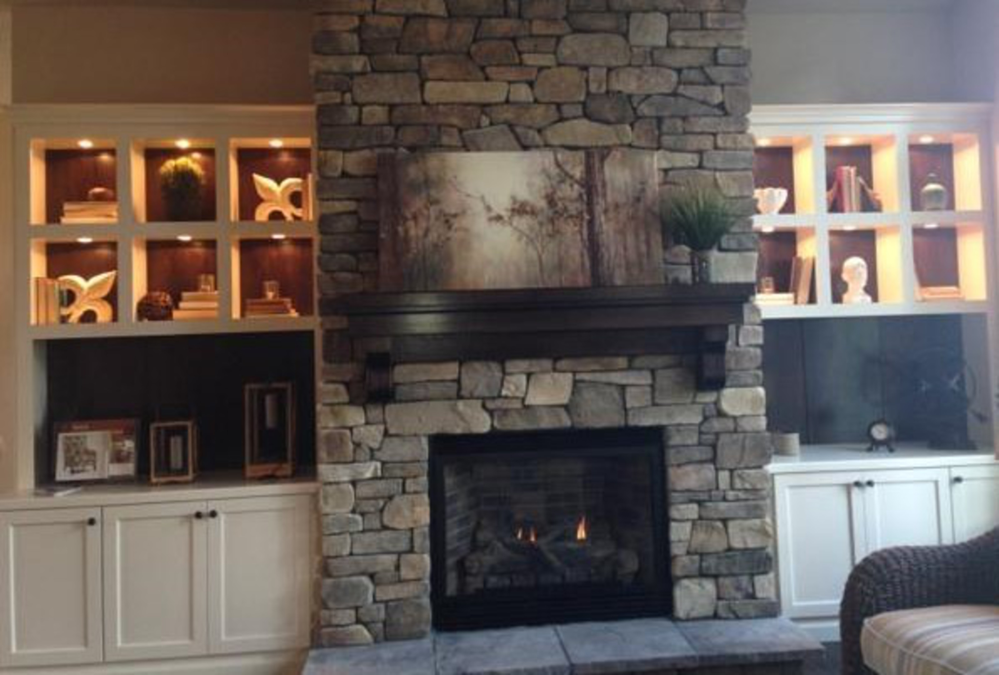 hickory shaker style kitchen cabinets outdoor pavilion designs affordable custom - showroom