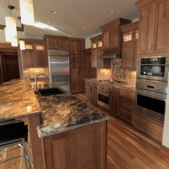 Craftsman Style Kitchen Cabinet Doors Rustic Affordable Custom Cabinets - Showroom