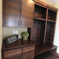 Dark Walnut Kitchen Cabinets Florida Design Ideas Affordable Custom - Showroom