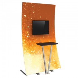 serie 142 chair kiosk design small space kitchen table and chairs formulate ipad kiosks stands affordable exhibit display monitor kit 3