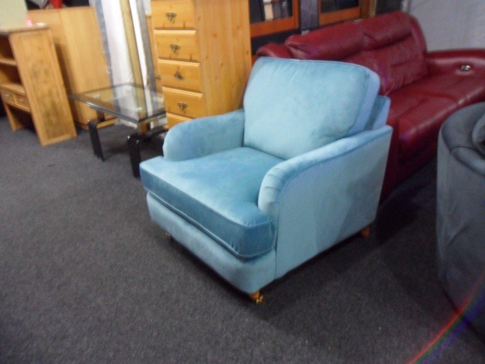 blue velvet armchair nz folding quad chair menards accent  affordable furnishings